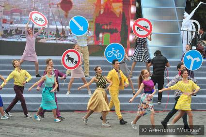 Неменее 60% гостей приглянулись мероприятия наДень города в столице